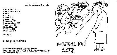 Musical  For  Cats
